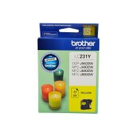 Brother LC231Y Yellow Ink Cartridge