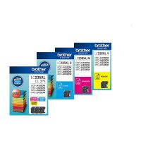 Brother LC235XLCL3PK 3 High Yield Ink Cartridge Value Pack (Cyan/Magenta/Yellow)