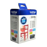 Brother LC33193PK 3 Ink Cartridge Value Pack (Cyan/Magenta/Yellow)