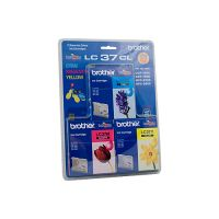 Brother LC37CL3PK 3 Ink Cartridge Value Pack (Cyan/Magenta/Yellow)