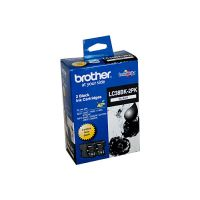 Brother LC38BK2PK Black Ink Cartridge Twin Pack