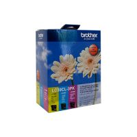Brother LC39CL3PK 3 Ink Cartridge Value Pack (Cyan/Magenta/Yellow)