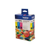 Brother LC40CL3PK 3 Ink Cartridge Value Pack (Cyan/Magenta/Yellow)