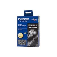 Brother LC67HYBK2PK Black High Yield Ink Cartridge Twin Pack