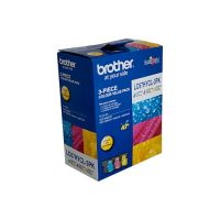 Brother LC67HYCL3PK 3 High Yield Ink Cartridge Value Pack (Cyan/Magenta/Yellow)