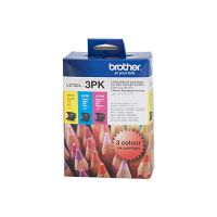 Brother LC73CL3PK 3 Ink Cartridge Value Pack (Cyan/Magenta/Yellow)