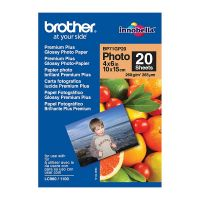 Brother BP71GP20 Glossy Photo Paper (4x6, 20 Sheets, 260 gsm)
