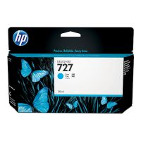 HP B3P19A #727 Cyan Ink Cartridge 130ml