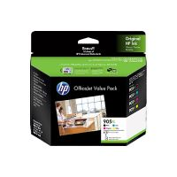 HP 3GN11A #905XL 4 High Yield Ink Cartridge Value Pack (Black/Cyan/Magenta/Yellow + Matte Cards)