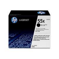 HP CE255X #55X Black High Yield Toner Cartridge