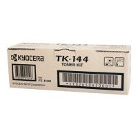 Kyocera TK144 Black Toner Cartridge Kit