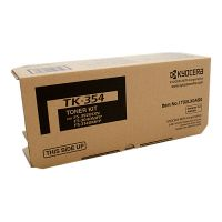 Kyocera TK354B Black Toner Cartridge Kit