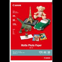 Canon MP101 Matte Photo Paper (A4, 50 Sheets, 170 gsm)