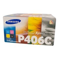 Samsung CLTP406C 4 Toner Cartridge Value Pack (Black/Cyan/Magenta/Yellow)